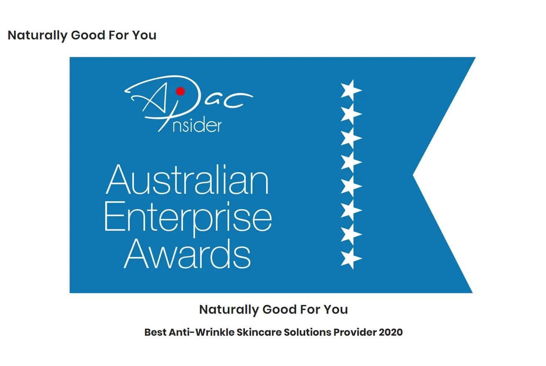 APAC Insider Australian Enterprise Award Winner 2020